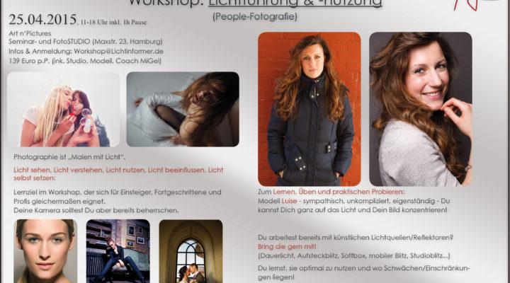 Licht sehen! Licht verstehen! Licht lenken! Neuer Workshop im April! Nur 6 Plätze!!! Alle Details unter: http://michael-gelfert.de/Workshops/Lichtfuehrung.pdf ÜberMiGelProfessioneller Fashion- & Beauty-Fotograf mit und aus Leidenschaft. Ebenfalls aus Herzblut: Dozent, Autor. […]